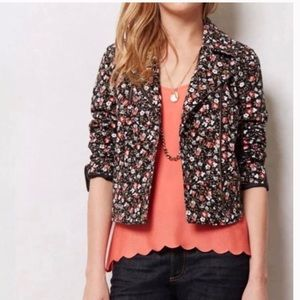 Anthropologie Hei Hei Crop Tinsley Bomber Jacket